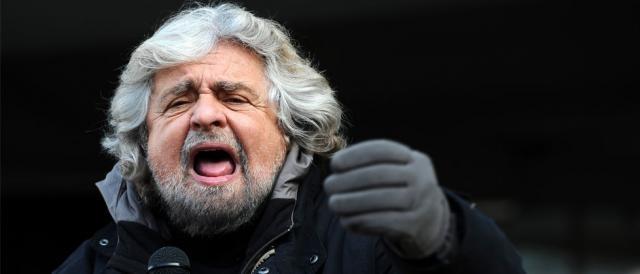 Il leader del Movimento5Stelle, Beppe Grillo