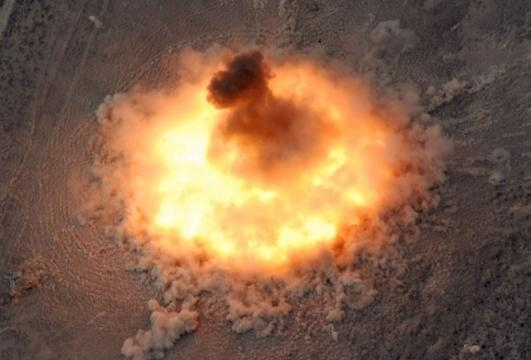 USA lanciano la madre di tutte le bombe su covo ISIS in ... - meteoweb.eu