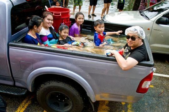 Das Familenbad to GO in Thailand!