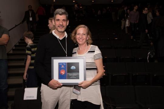 NASA and Houston Cinema Arts Society presents CineSpace. Photo courtesy of Nerd Locker - nerdlocker.com
