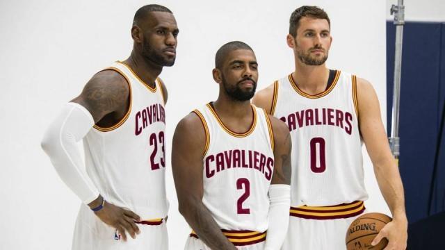 Cavs' 'Big Three' look as dangerous, dominating as ever | NBA ... - sportingnews.com