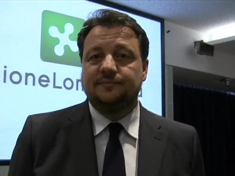 Gianni Fava, assessore regionale all'agricoltura in Lombardia