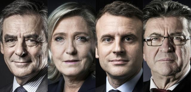 Macron et Le Pen toujours en tête mais en baisse