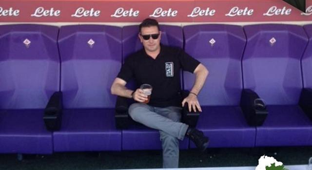 Marco Ficini estava em Lisboa para assistir ao dérbi