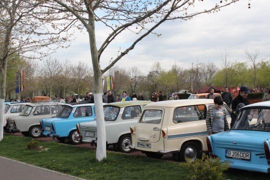 Parcul Tineretului Trabant Photo Andrei Iliescu II
