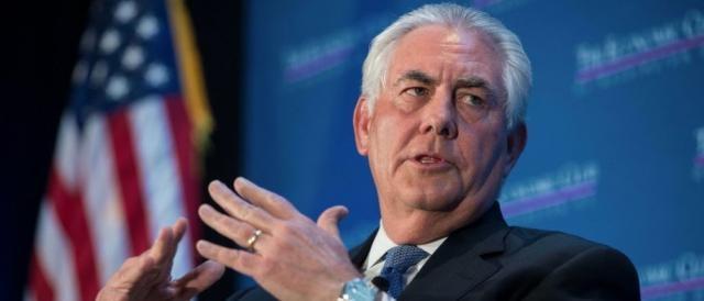 Rex Tillerson: 'Delusi dalla Russia che continua a supportare un criminale di guerra'