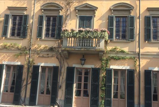 Vista interna di Villa San martino