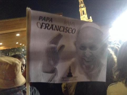 Papa Francisco na peregrinação ao Santuário de Fátima