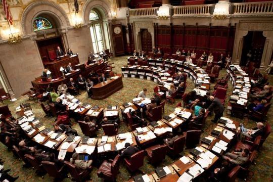 Senate Floor... - NY State Senate Office Photo | Glassdoor - glassdoor.com