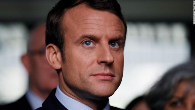 Czy Emmanuel Macron zniszczy Francję? (fot. cnn.com)