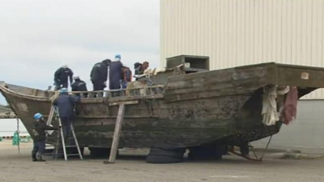 Defecting or fishing? 11 wooden fishing boats from North Korea ... - scmp.com
