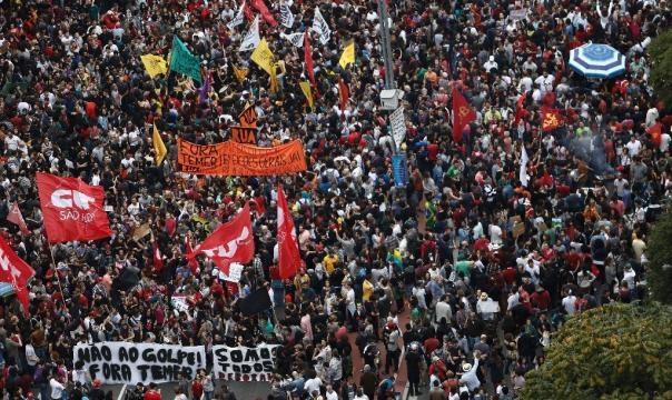 Miles de brasileños exigen renuncia del presidente Michel Temer ... - unam.mx