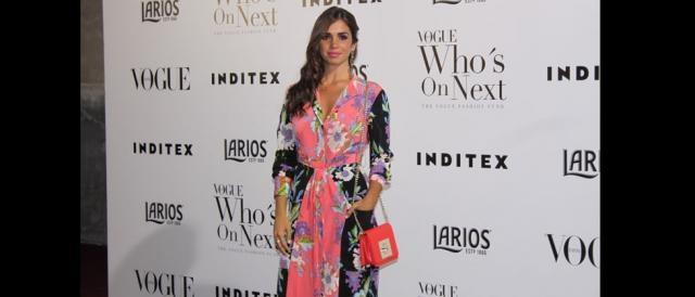 Elena Furiase. Las mejor vestidas de los Premios Vogue WON 2017