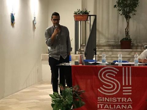 Primo congresso a Trani di Sinistra Italiana all'auditorium San Luigi
