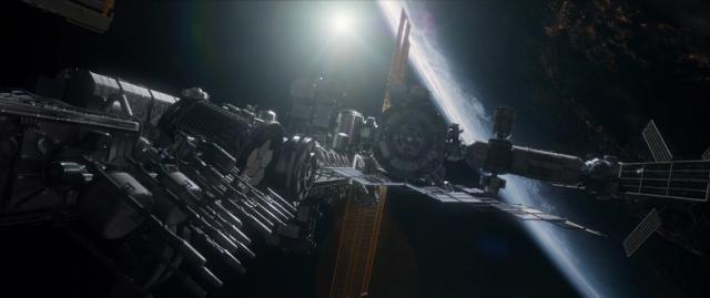 La ISS en el primer plano de esta nueva superproducción cinematográfica