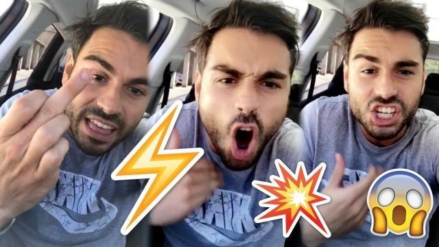 Ricardo insulte Bastien sur ses vidéos Snapchat !