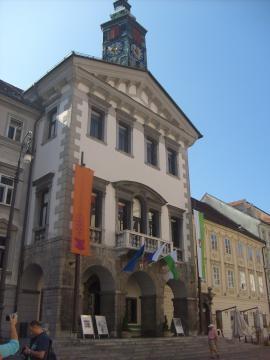 Ratusz w Lublanie (fot. Krzysztof Krzak)