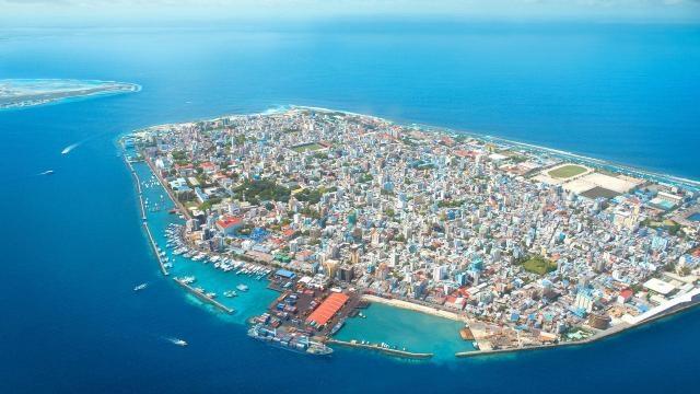 Male- capitala arhipelagului Maldive, care atrage miliaone de turiști anual
