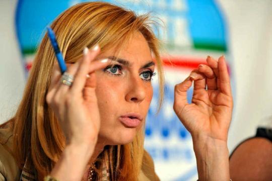 Michaela Biancofiore, deputata FI: suo l'emendamento votato in massa dai grillini.