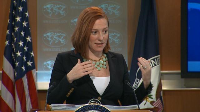 Jen Psaki, ex portavoce del Dipartimento di Stato americano