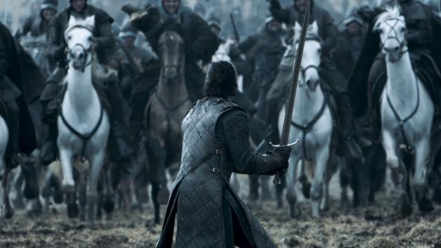 La batalla de los bastardos, momento icónico de la temporada anterior.
