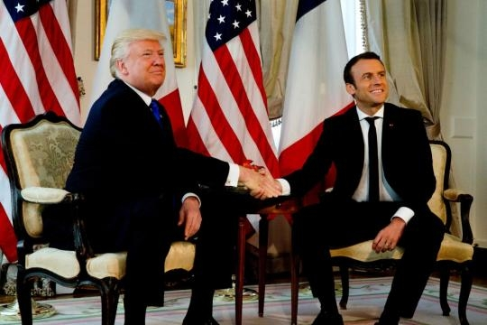 President Trump to visit Paris for Bastille Day at Macron's ... - aol.com