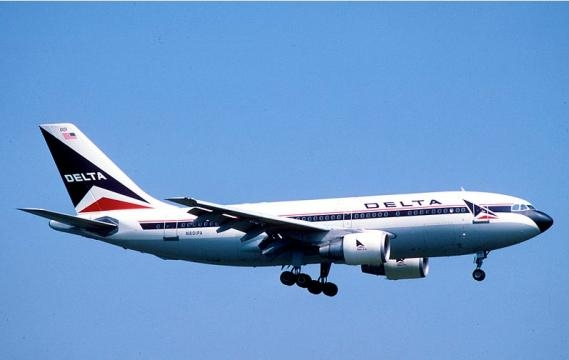 Delta Air Lines Airbus A310-221 (Image credit - Aero Icarus - Wikimedia)