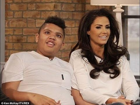 Katie Price wants her autistic son to experience sex when he turns 18 [Image: YouTube screenshot]