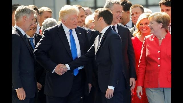 Macron's talk with Trump may have changed the mind of the billionaire about climate change. image \ Most News | YouTube.