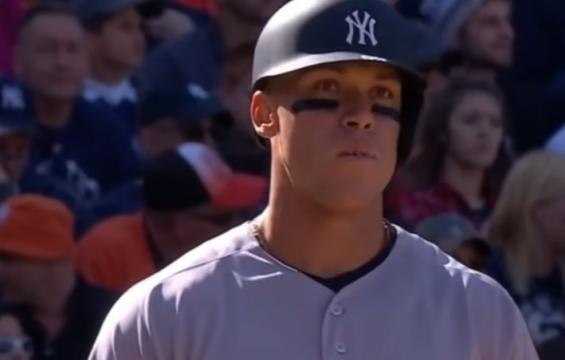 New York Yankees rumors: Aaron Judge goes cold, Home Run Derdy to blame? - youtube screen capture / MWV Highlights