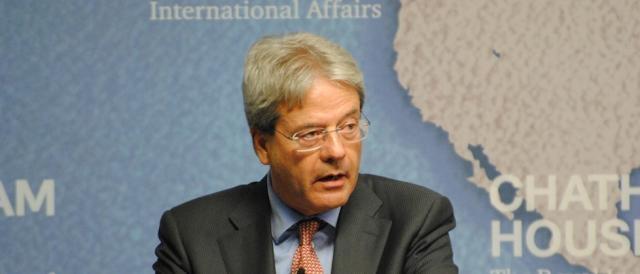 Il premier italiano Paolo Gentiloni