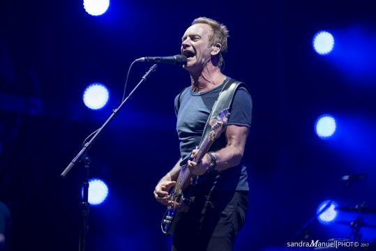 Sting não desiludiu e deu o concerto do festival