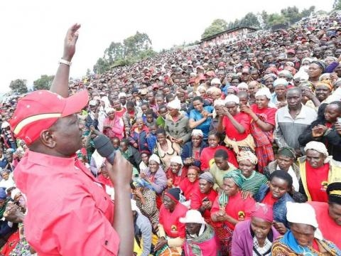 Ruto president Uhuru's running mate during campaigns - socialbearing.com