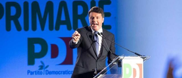 Il segretario del PD, Matteo Renzi