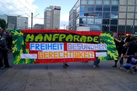 Hanfparade in Berlin - flickr.com