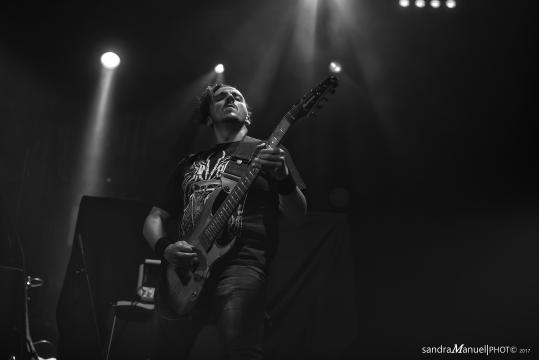 Miguel Martins - um dos guitarrista dos Equaleft
