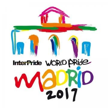 Cartel oficial del World Pride Madrid 2017