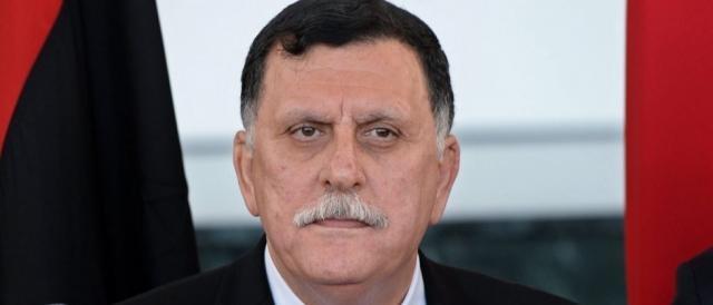 Fayez al-Sarraj, leader del governo libico di Accordo Nazionale