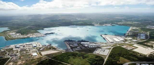 base militar de Estados Unidos en la isla Guam