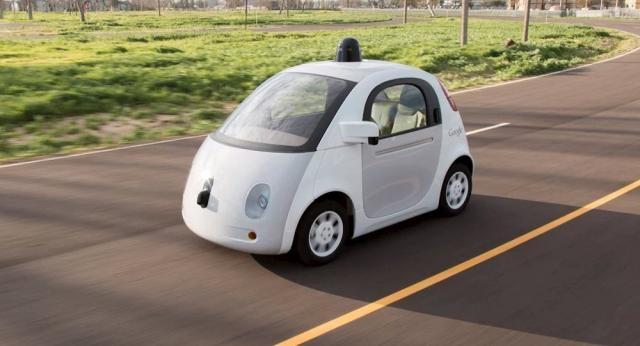 Les voitures autonomes de Google pourraient