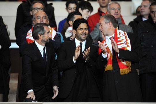 Blanc, Al Khelaifi et Vasilyev. Crédit photo : foot01.com