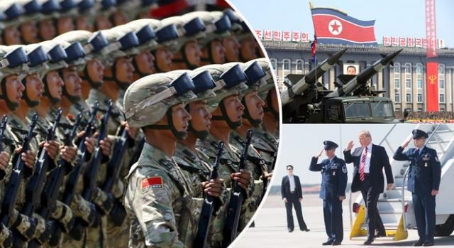 China se va implica dacă SUA va ataca prima Coreea de Nord Foto: Colaj imagini Creative Commons