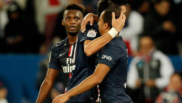 Lucas, Pastore et Bahebeck. Crédit photo : football.fr