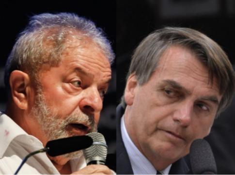 Lula e Bolsonaro podem ser desbancados