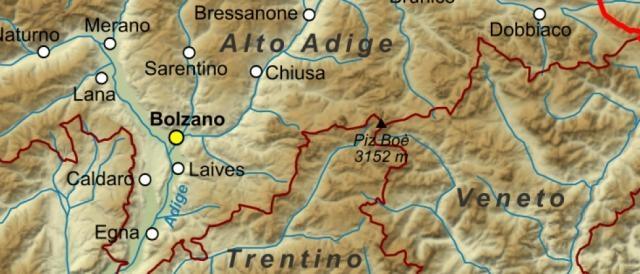Maggiormente colpite dal maltempo le zone del Trentino Alto Adige e del Veneto