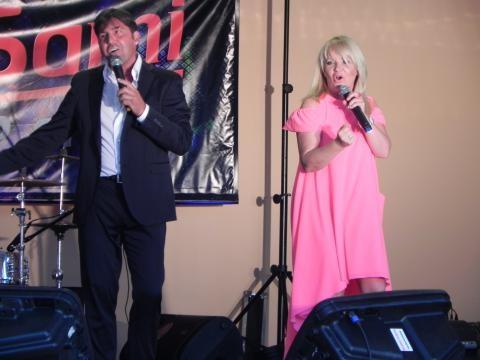 Marco Antonelli i Halina Benedyk (fot. Krzysztof Krzak)