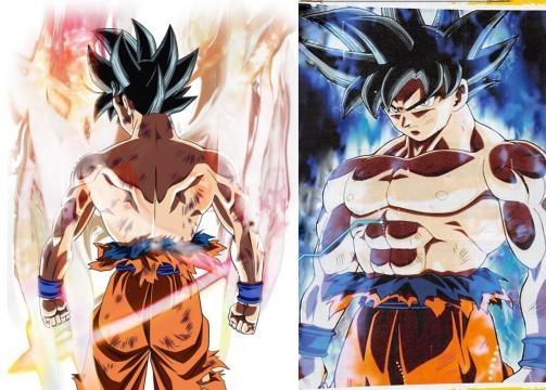 Nueva transformación de Gokú en Super Saiyajin Blue al 100%