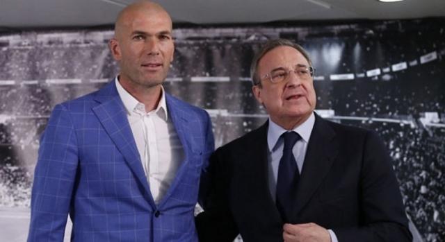 Florentino Pérez y Zinedine Zidane acuerdo total