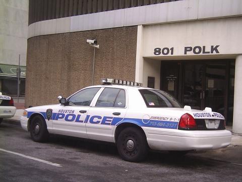 Houston Police Car via Rofra of German Wikipedia