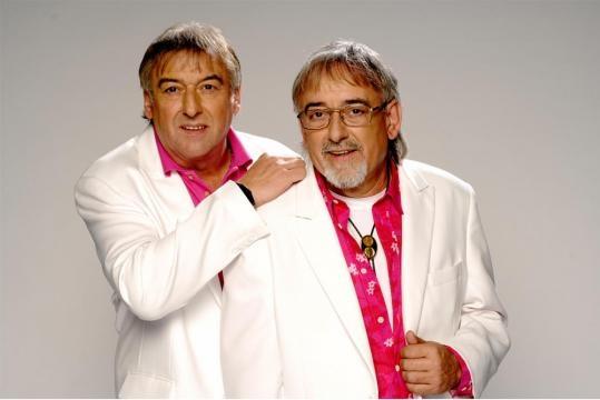 Bernd Ulrich und Karl-Heinz Ulrich (re.) sind